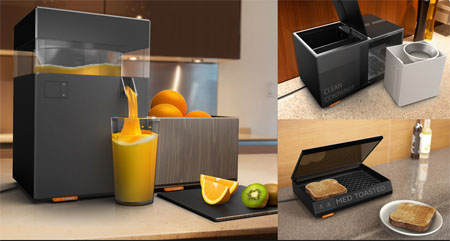Kitchen Scape: Your Elegant And Futuristic Kitchen Tools | Modern ...