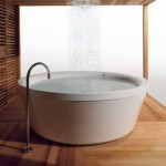 Outdoor KOS Geo 180 Bathtub for Unique Experience in Showering