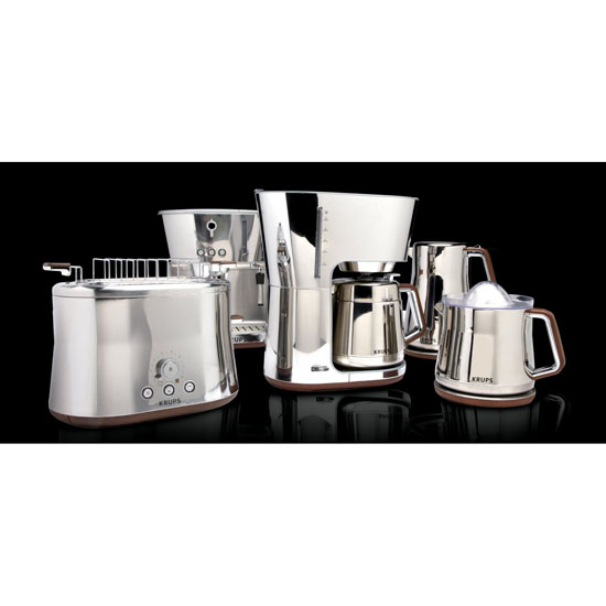 Krups KT600 Silver Art Collection Coffee Maker