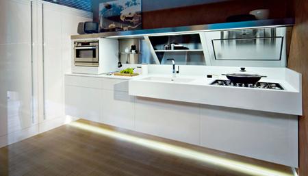 a beautiful kube kitchen design by snaidero modern home decor
