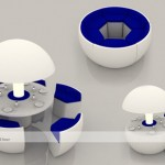 Kure, Cocoon Dining Table Concept