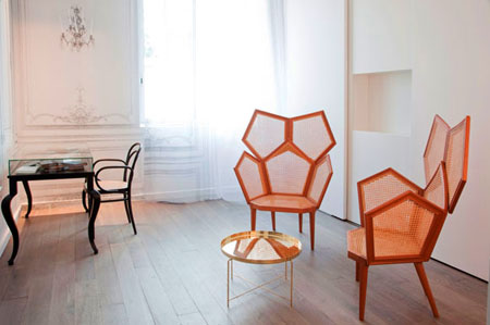 La Maison Champs Elysees Contemporary Chair Design