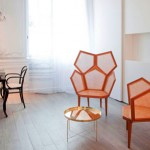 Contemporary Furniture Design For The Re-designing Of La Maison Champs Elysees Hotel