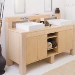 Wood Bathroom Vanity by Lacava