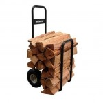 Transport Your Firewood Comfortably And In Style With The Landmann USA Log Caddy