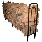 Get Your Firewood In Place With The Landmann Contemporary Arch Log Rack