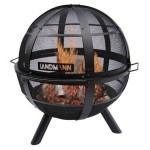 Have A Landmann USA 28925 Ball Of Fire Outdoor Fireplace For A Warm And Eye-catching Outdoor