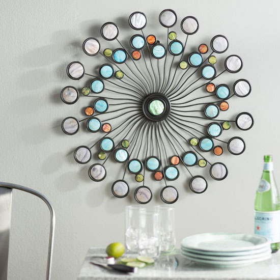 Artistic Latitude Run Modern Metal Wall Décor Brings Color to Your Plain Wall
