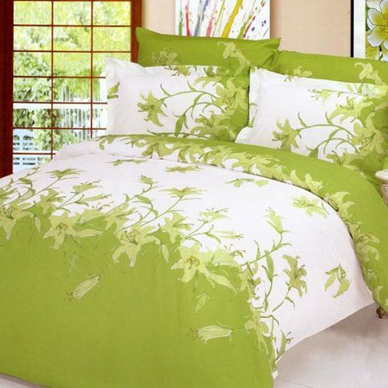Le Vele Perfume Lily duvet cover bed - Dorm Room Decorating Ideas for Girls