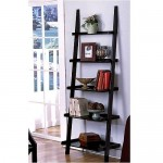The Leaning Ladder Style Magazine And Bookshelf By The Décor Collection