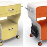 Kitchen Trolley with Classic Style for Your Retro Kitchen