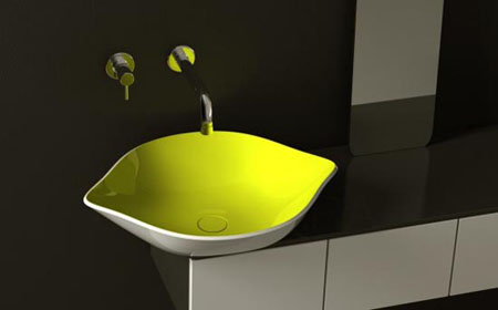 Yellow Lemon Bahtroom Sink: Keeps Your Bathroom Looking Fresh At All Times