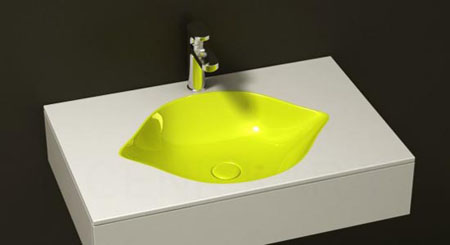 Lemon Bathroom Sink