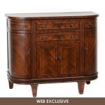 Liberty Walnut Cabinet Gives A Classic Yet Elegant Ambiance To Your Home