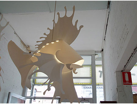 Lionfish Pendant Light
