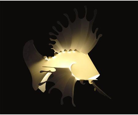 Lionfish Pendant Light