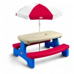 Let The Kids Enjoy Outdoors With The Little Tikes Easy Store Large Picnic Table