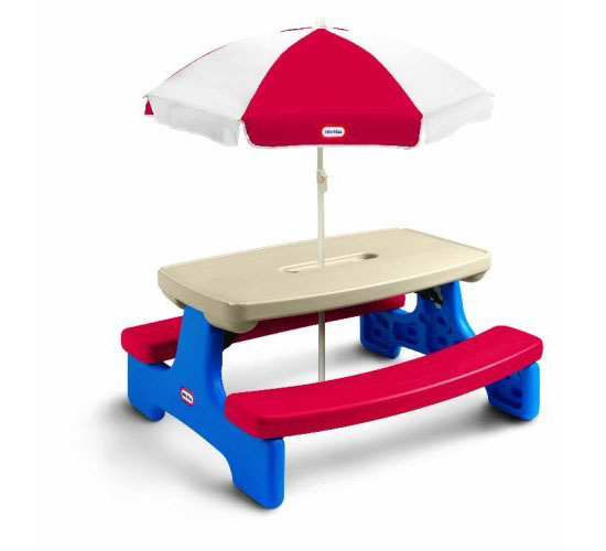 Little Tikes Easy Store Large Picnic Table