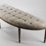 Add Some French Ambiance To Your Home With The Louis Curve Bench