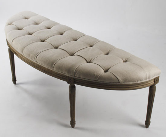 Louis Curve Bench