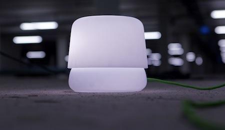 Low Flat Lamp