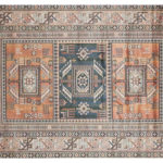 Luanda Area Rug Features Beautiful Geometric Design Pattern to Enhance The Room