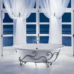 Moonlight Bathtub with Iron Cradle from MAAX