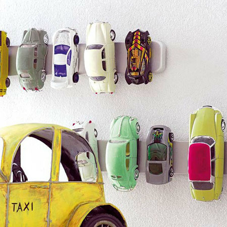 Toy car holder