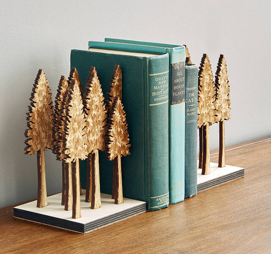 Majestic Forest Bookends by Steven Truong