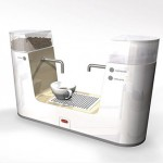 Makkina: A Space Saving Coffee Maker Concept