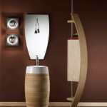 Wood Bathroom Vanity from Mariner
