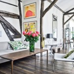 Martin Grant's Paris Home Shows That Classic And Contemporary Goes Along Well