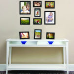 Modern MCS Industries Solid Wood Frame Set : 10 Solid Pine Wood Photo Frames