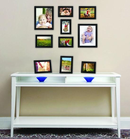 Modern MCS Industries Solid Wood Frame Set : 10 Solid Pine Wood ...