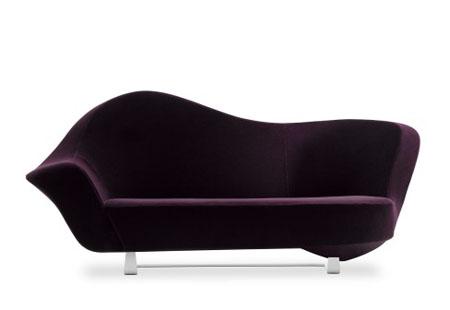mdf italia aubergine sofa