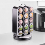 Mind Reader Vortex Spinning Coffee Pod Carousel Holds Your Coffee Pod In Style