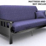 A Modern Loft Skyline Mission Futon Frame Is All You Need To Have A Sofa And Bed In One