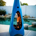 Modern Outdoor Fireplace: Keeps Your Warm In Style When Outdoor