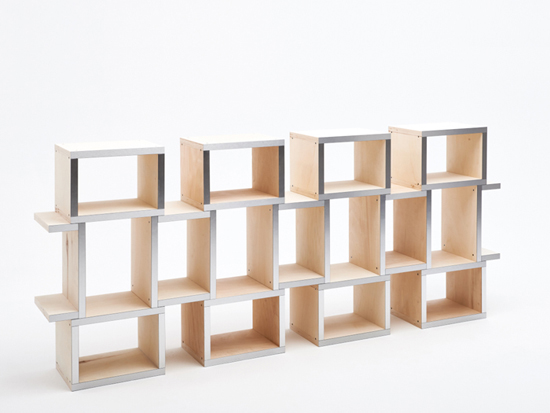 Modular Shelves by Reinier de Jong