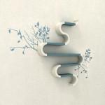 Artistic Modular Shelves Design by Maria Yasko
