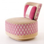 Moroso Fauteuil Juju Chair for Fashionable Homes