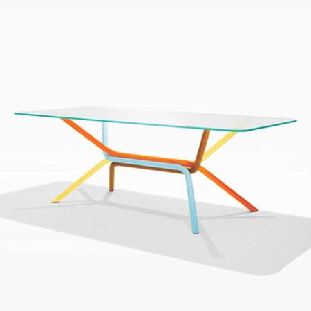 Multi Colored Table