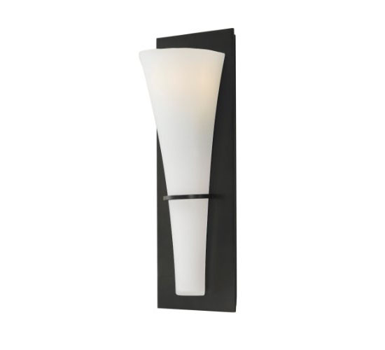 Murray Feiss WB1341ORB Barrington Collection ADA 1-Light Wall Sconce
