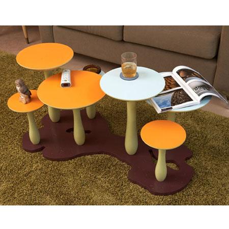 Mushroom Forest Coffee Table
