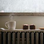 Natural Wave Utilizes Heat from Radiator as Food Warmer Tray