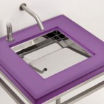 Mini Ebb 24 Washbasin from Neo Metro