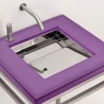 Mini Ebb 24 Washbasin from Neo Metro