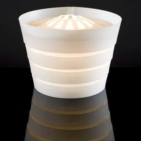 NY Guggenheim Museum Lamp
