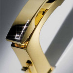 X-Sense Gold Bathroom Faucet with Swarovski Crystal Limited Edition from NewForm