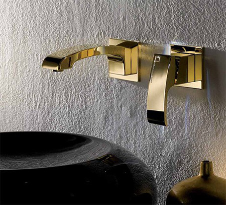 X-Sense Gold Bathroom Faucet with Swarovski Crystal Limited ...